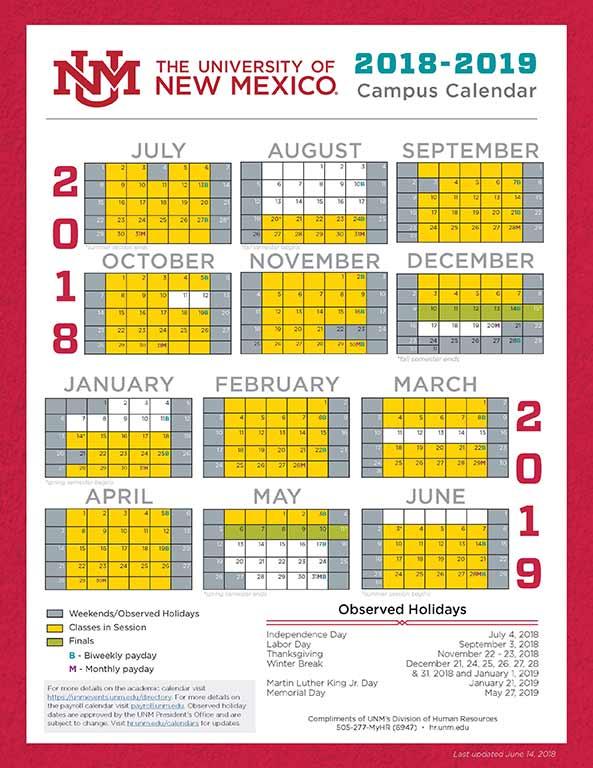 Unm Academic Calendar Fall 2020.Unm Academic Calendar 2020 Calendar