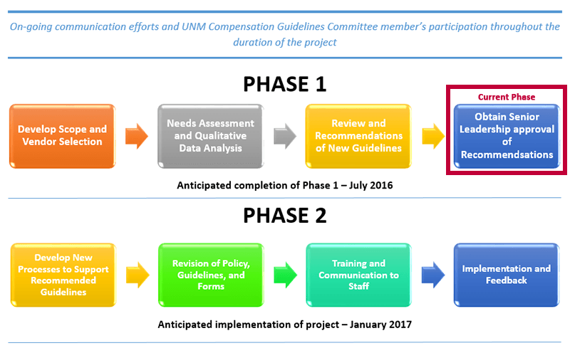 Comp Guidelines Review Phases