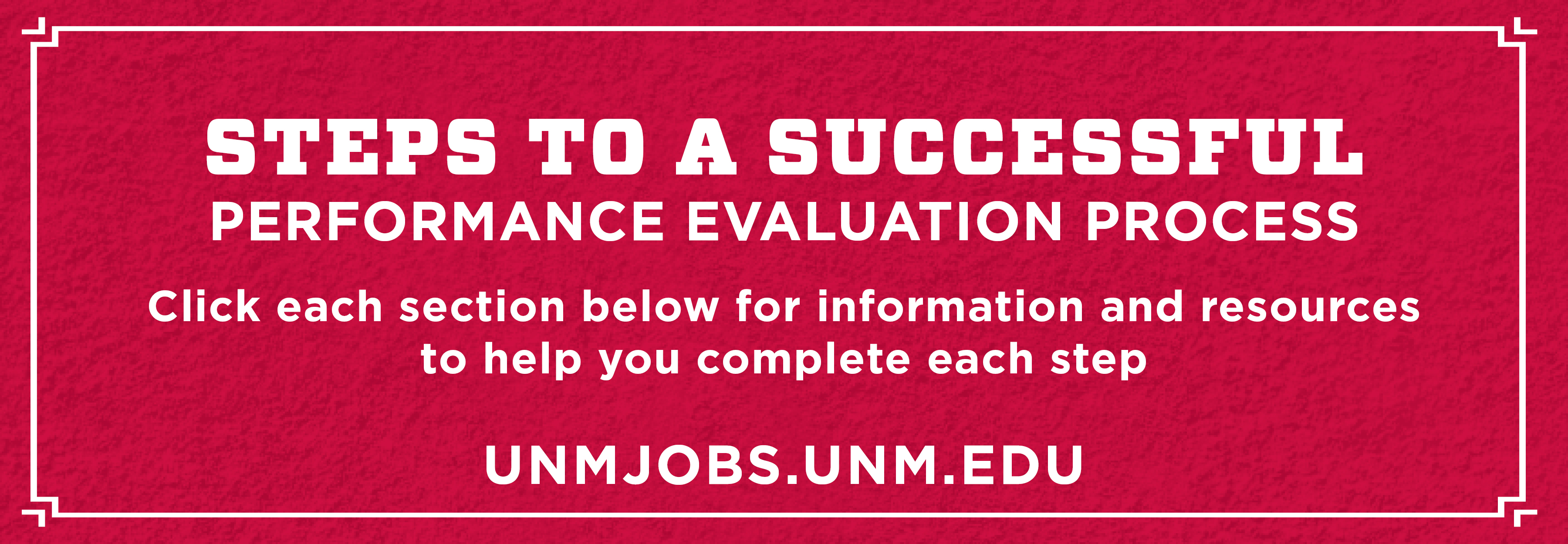 Steps to a Successful Performance Evaluation Process